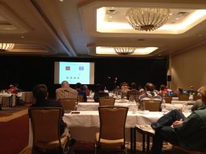 Kyle Hailey presenting at Hotsos 2013