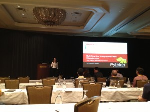 Gwen Shapira presenting at Hotsos 2013