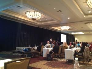 Maria Colgan presenting at Hotsos 2013