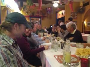 Dinner at Rafas 1 - Hotsos 2013