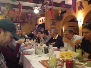 Dinner at Rafas 2 - Hotsos 2013