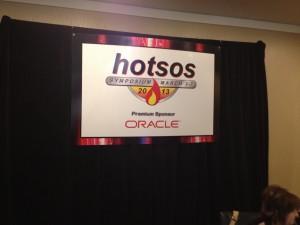 Hotsos 2013 a great start !